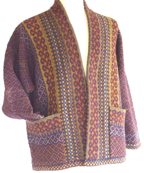 Gooden Gansey fairisle knitting patterns and KnitKits