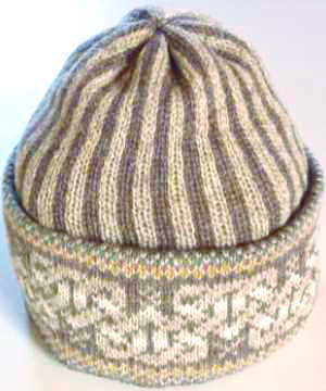 Celtic Heart hat